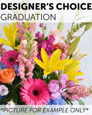 Designer's Choice - Graduation Flower Arrangement