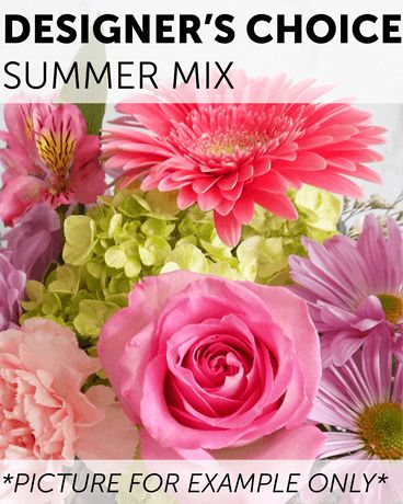 Designer's Choice - Summer Mix Flower Arrangement