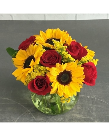 Sundrops Flower Arrangement
