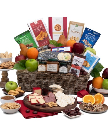 Big City Farmers Market Gift Basket Gift Basket