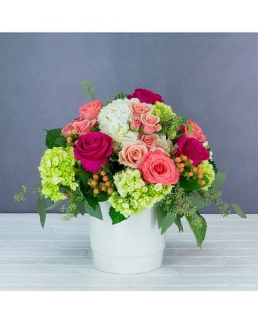 Charming Rouge Flower Arrangement