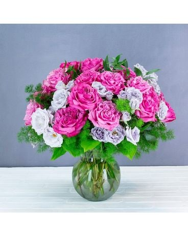 Remastered Roses Flower Arrangement