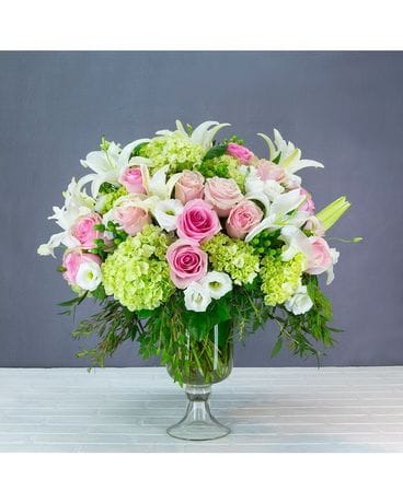 Rosey Garden Flower Arrangement