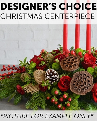 Designer's Choice - Christmas Centerpiece