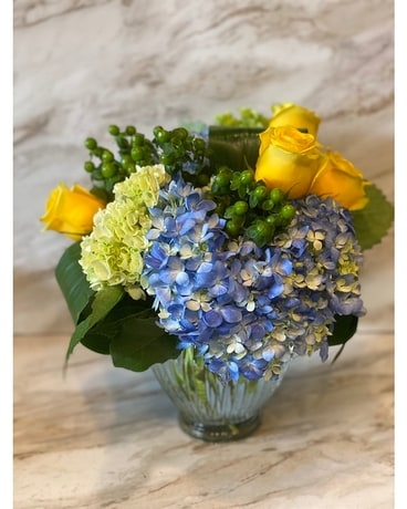 Hydrangea Love Flower Arrangement