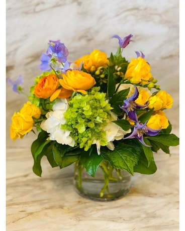 Sunny and Sweet Flower Arrangement