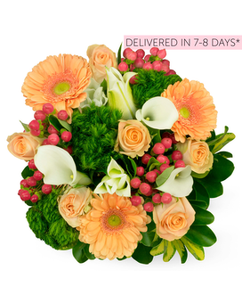 Farm-To-Door Delivery: Happiness Spring Flower Arrangement