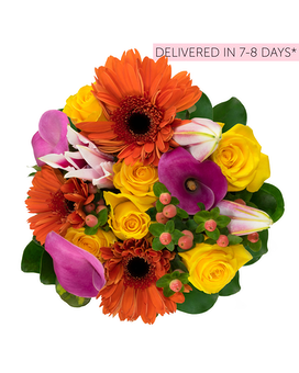 Farm-To-Door Delivery: Original Fall Flower Arrangement