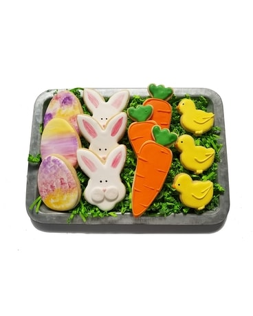 Easter cookie tray in raleigh nc bloom works easter cookie tray gifts negle Gallery