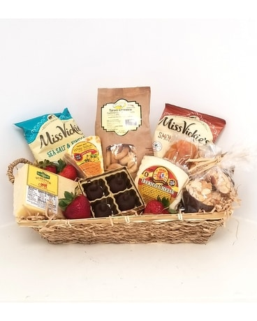 Gourmet Cheese & Snack Basket