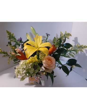 Hoppin' Down The Bunny Trail Flower Arrangement