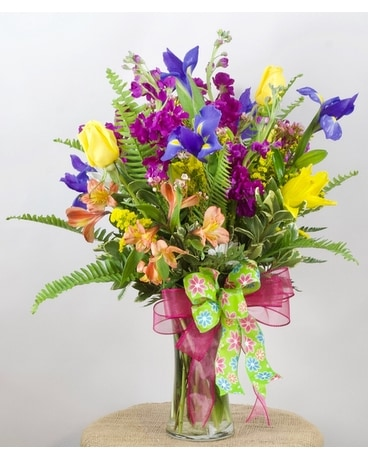 Pretty Paisley Flower Arrangement
