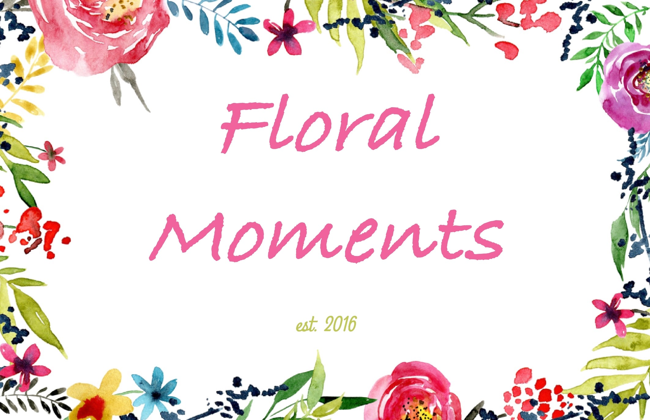 Floral Moments