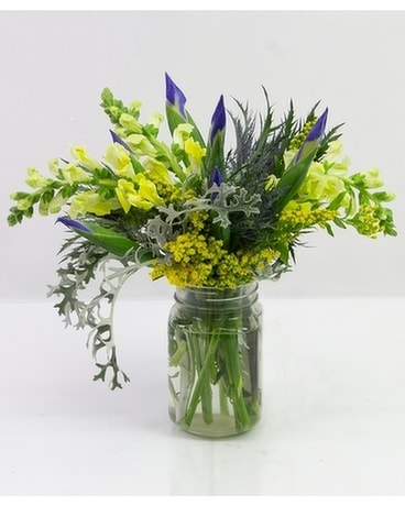 Rustic Beauty Flower Arrangement