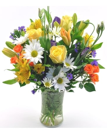 Morning Kiss Flower Arrangement