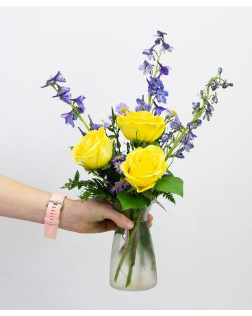 Royal Sunshine Flower Arrangement