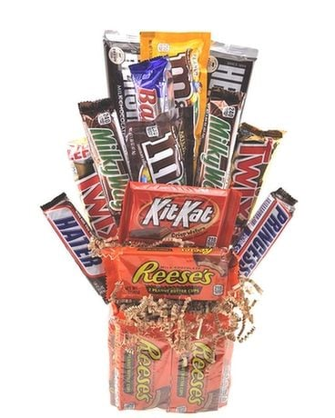 Chocolate & Peanut Butter Bliss Gift Basket