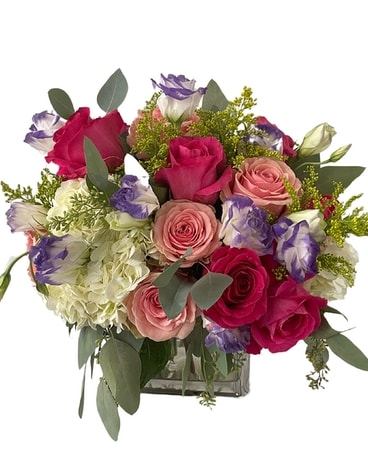 Clutch of Color Flower Arrangement