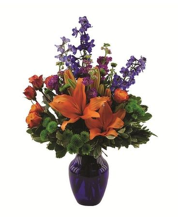 Blue Crush Flower Arrangement