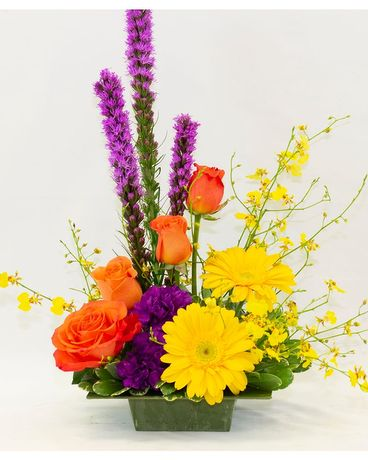 Color Splash Flower Arrangement