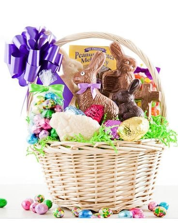 Easter Candy Basket Gift Basket