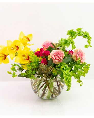 Bright Soul Flower Arrangement
