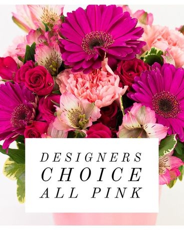 Designer's Choice Pink Flowers Flower Arrangement