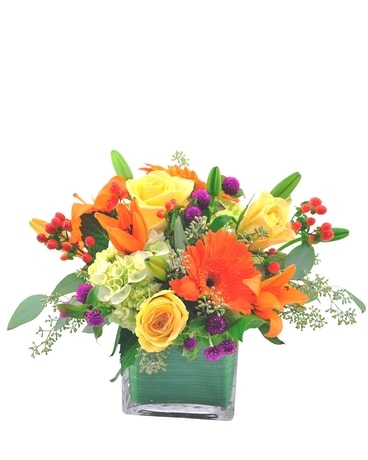 Passionate About Fall Flower Arrangement