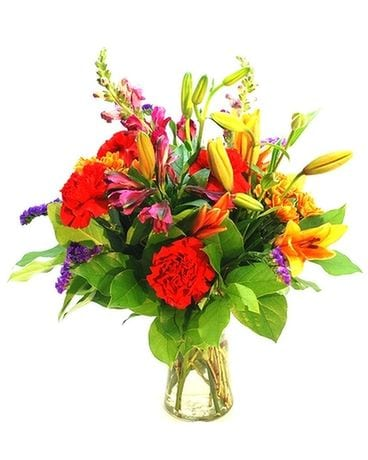 Best of Season Vase for Fall Flower Arrangement