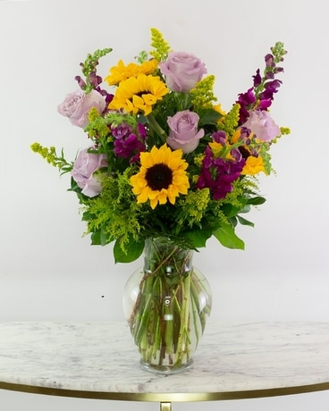 Stunning Sunflower Bouquet Flower Arrangement