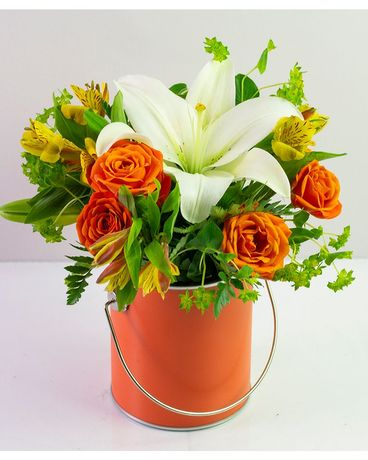 Orange You Glad to See Me? Flower Arrangement