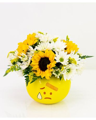 Get Well Wishes Flower Arrangement