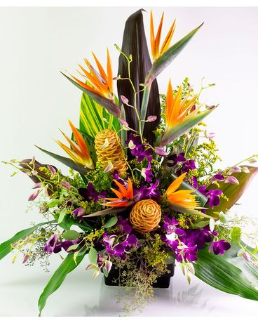 Birds in Paradise Flower Arrangement