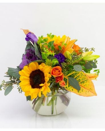 Autumn Equinox Flower Arrangement