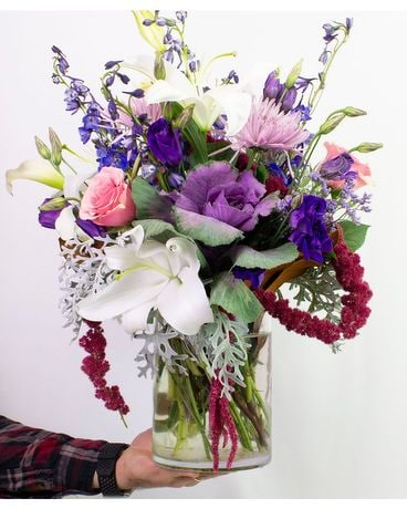 Autumn Twilight Flower Arrangement