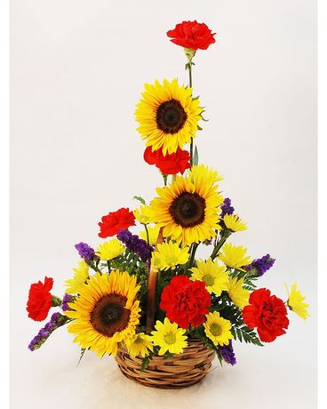 Sunflower Delight Flower Arrangement