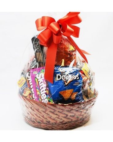 Snack Food Basket Gift Basket