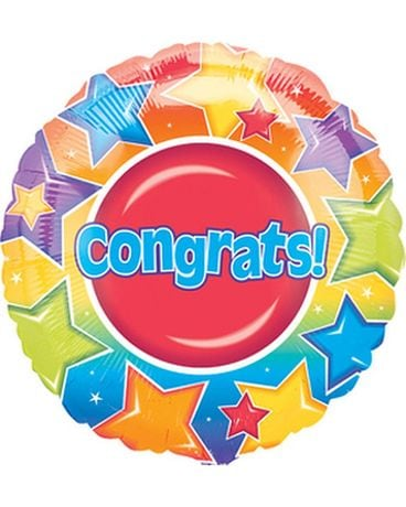 Congratulations Mylar Balloon Gifts