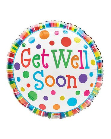 Get Well Mylar Balloon Gifts