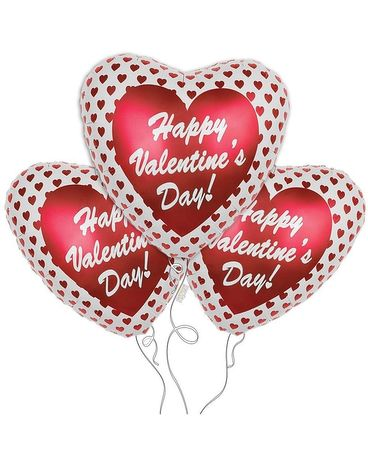Valentine's Day Mylar Balloon Bouquet Gifts