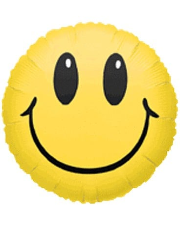 Smiley Face Mylar Balloon Gifts