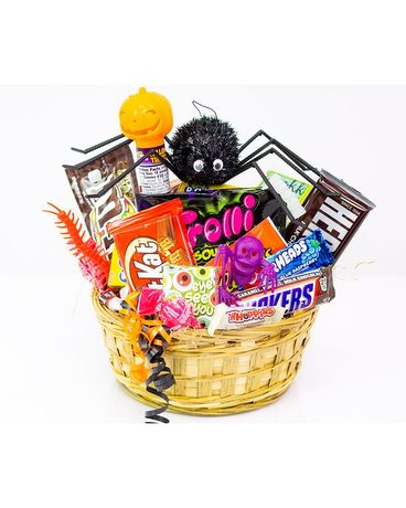 Trick or Treat Basket Basket Arrangement
