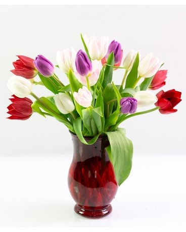 Tulips my Love Flower Arrangement