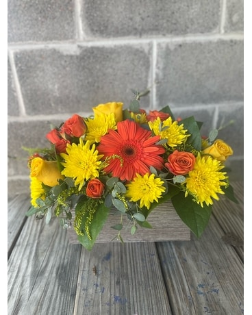Pull Out the Sunshine Flower Arrangement
