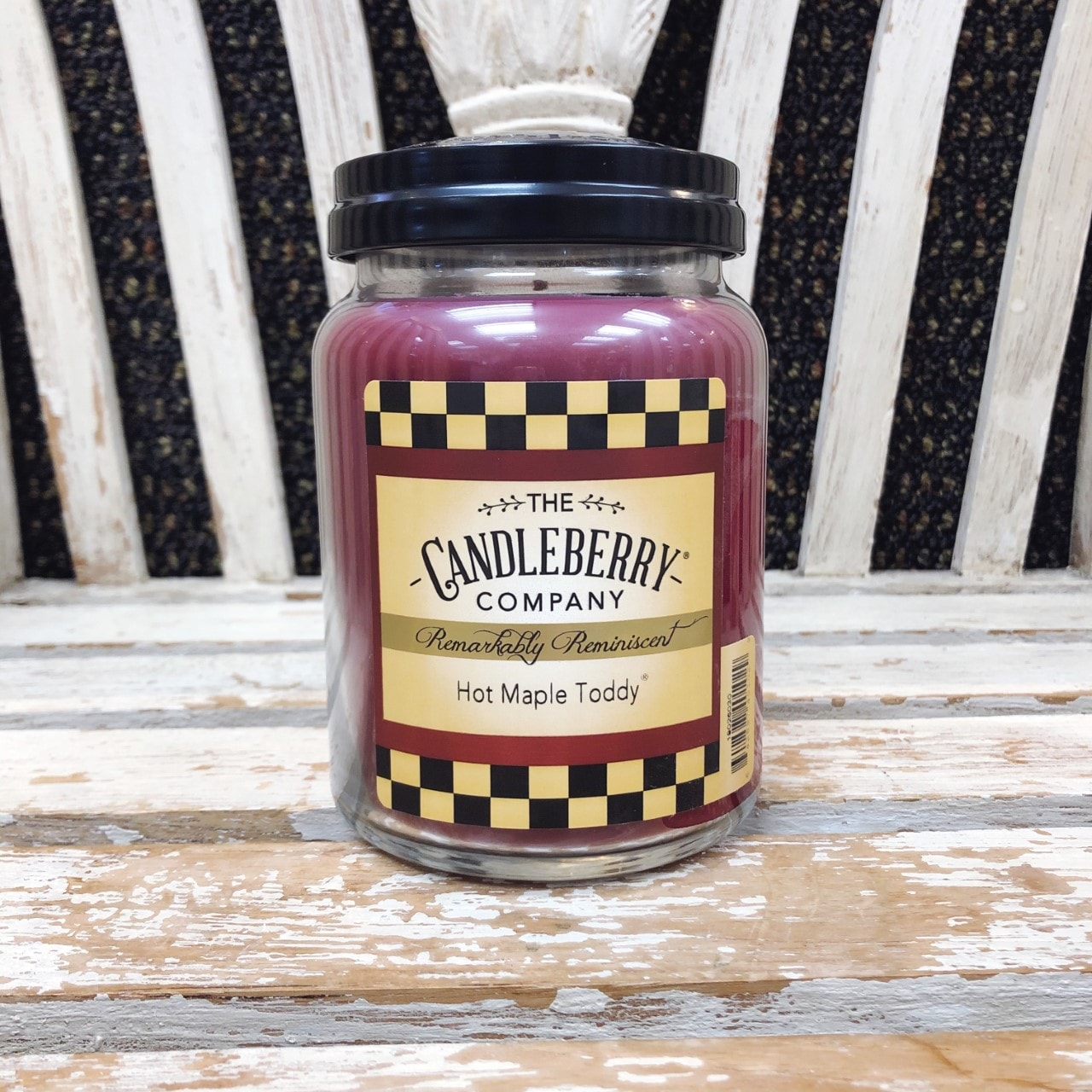 Candleberry Candle Hot Maple Toddy
