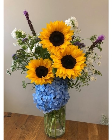 Exclusively Willamette Valley Flower Arrangement