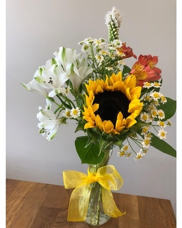 Local Sunshine Flower Arrangement