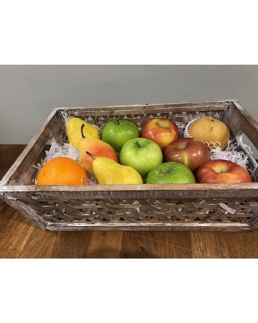 Medium Fruit Tray Gift Basket