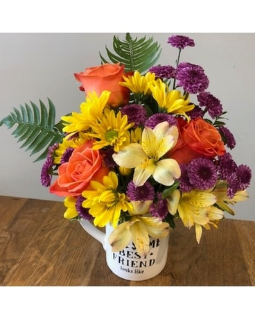 Awesome Best Friend Flower Arrangement
