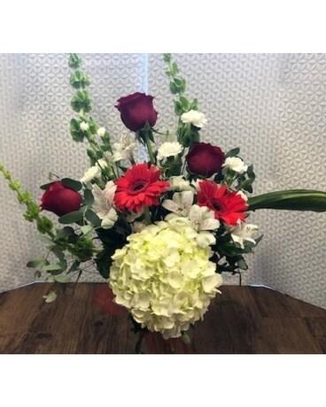 Resilient Romance Flower Arrangement